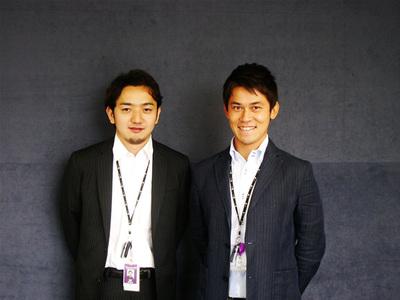 左:テクノロジーソリューション マネージャー 小沼剛氏。右:テクノロジーソリューション コンサルタント 佐藤友幸氏。