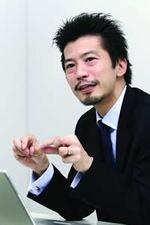 """関心空間代表取締役 前田邦宏氏。「""""つながり""""って実は立体的なものなんです」"""