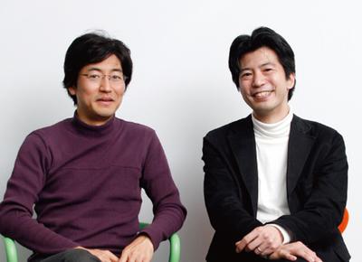 左:東京大学大学院情報学環 暦本純一教授,右:関心空間代表取締役 前田邦宏氏(撮影:武田康宏)