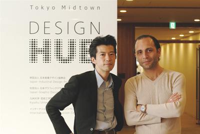 右:工学博士であり,トルコ人初の宇宙飛行士であるアニリール・セルカン氏。左:関心空間代表取締役 前田邦宏氏。