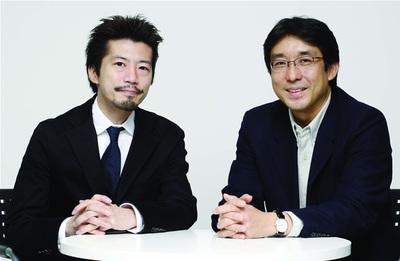 右:東京大学大学院情報学環教授 佐倉統氏。左:関心空間代表取締役 前田邦宏氏。
