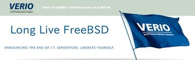 図 Verio FreeBSD VPS and MPS: Infrastructure to build on