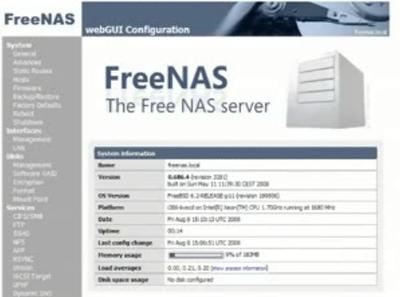 図1 動画の一部 - Setting up RAID 5 on a FreeNAS serverより抜粋