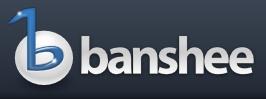 図1 Banshee - music management and playback for gnome