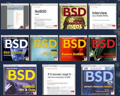 図 BSD magazine オンラインマガジン