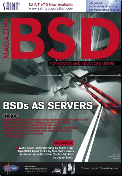図1 BSD magazine 2010/02号- BSDs AS SERVERS