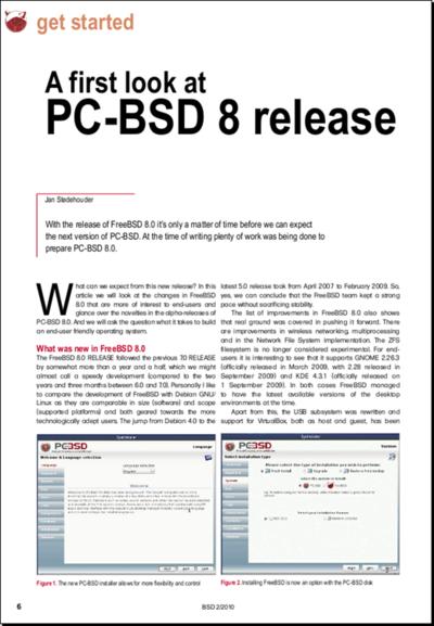 図2 BSD magazine 2010/02号- BSDs AS SERVERS