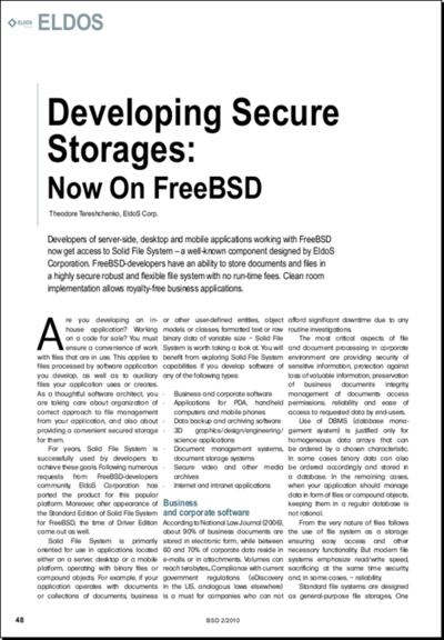 図4 BSD magazine 2010/02号- BSDs AS SERVERS