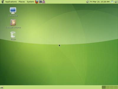 図1 GhostBSD 1.0の動作例