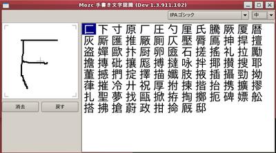 図2 手書き文字認識機能