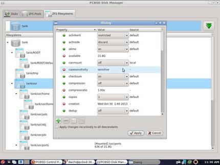 PC-BSD 10-STABLE (2013年10月30日版)使用例