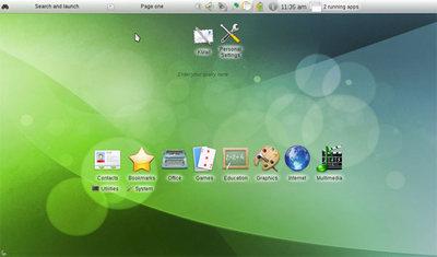 KDE SC 4.4のNetbook application launcher