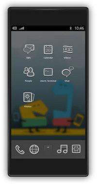 MeeGo v1.1 Handset Home Apps