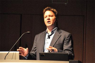 Jim Zemlin氏(2010年12月のMeeGoセミナーにて)