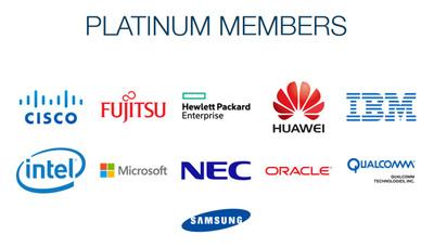 The Linux Foundationのメンバーシップのページ