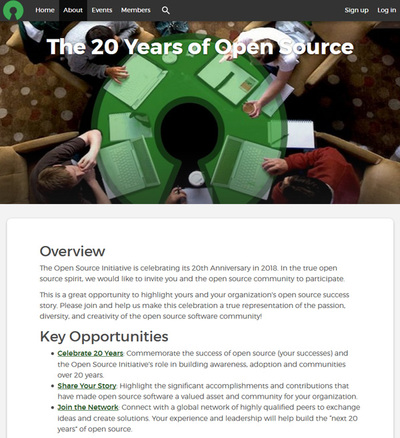 The 20 Years of Open Source
