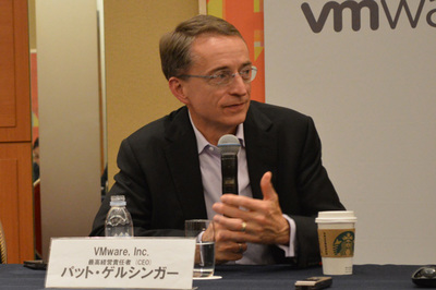 VMware パット・ゲルシンガーCEO