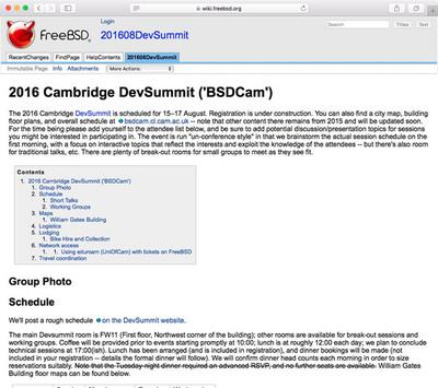 図 2016年8月ケンブリッジ BSDCam