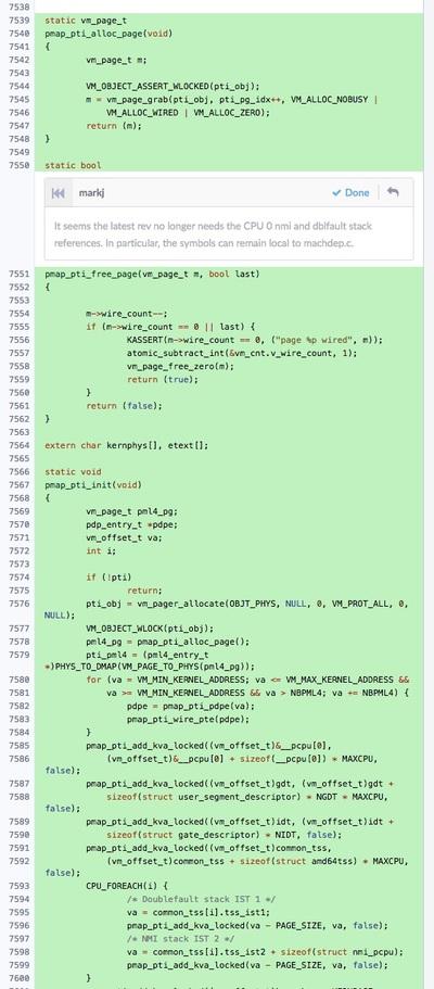 KPTI向けに追加されたコードなど