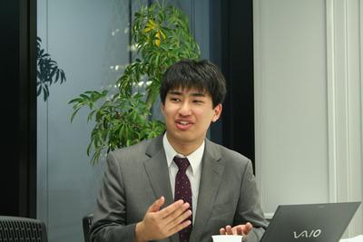デジタルシステム株式会社 浅見祐樹氏