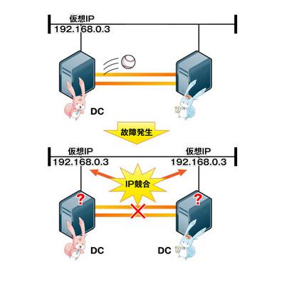 図1 スプリットブレイン