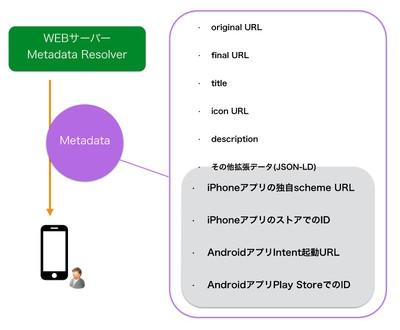 図1 リゾルバが返すMetadata