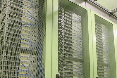 さくらインターネット データセンターのラック
