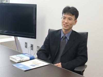 図1 システム管理ソフトウェア本部JP1マーケティング部部長 更田洋吾氏