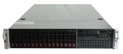 大容量データ向けフラッシュストレージサーバ,高速SSDを16基(S16/SMC-U2)搭載