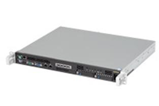 サードウェーブテクノロジーズが販売する「ExPrime Server R-280-HW」。奥行きを一般的なラックマウントサーバーの半分に抑えることでラックの集積率を高めることを可能にしている