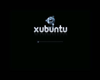 図3 Xubuntuのusplash