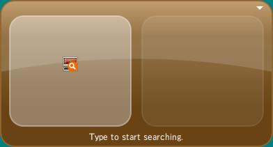 図3 GNOME Doの初期画面