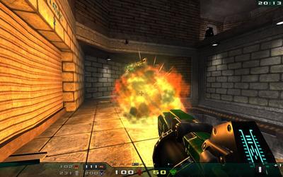 図3 NEXUIZのスクリーンショット