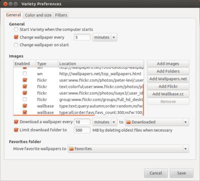図9 Flickrやその他サービスのURLを細かく指定できる点が特徴