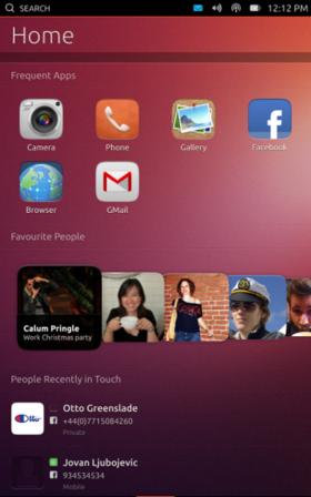 図1 Unity Nextの最新版が入っているUbuntu Touch