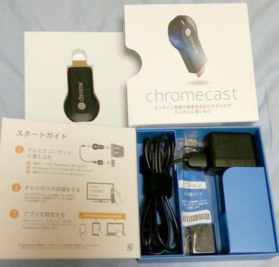 図1 Chromecast