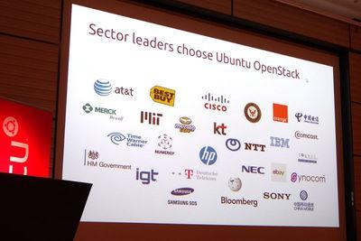 図5 本番環境でUbuntuとOpenStackを使っている企業