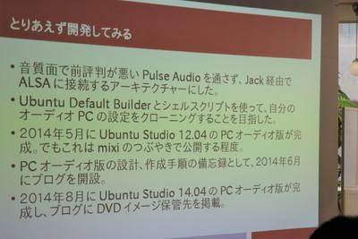 Ubuntu Studio 16.04 PCオーディオ版の萌え化