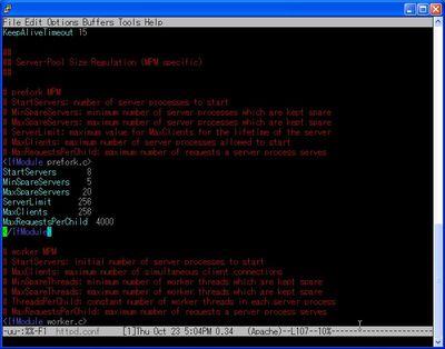 Emacs上でカラーリング