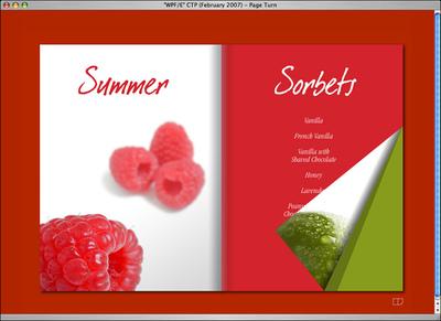 Mac OS Xで動作するWPF/Eのブックメタファ・コンテンツ(1)