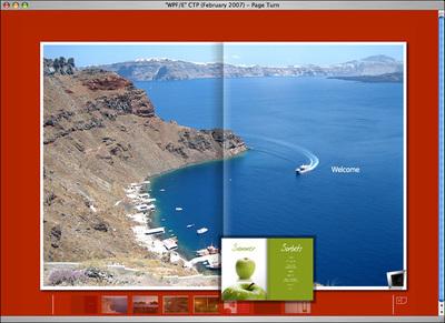 Mac OS Xで動作するWPF/Eのブックメタファ・コンテンツ(2)