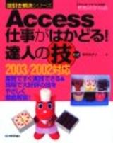 [表紙]Access 仕事がはかどる! 達人の技 2003/2002対応