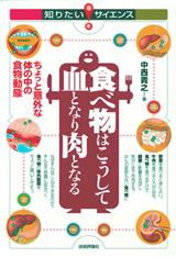 [表紙]食べ物はこうして血となり肉となる ―ちょっと意外な体の中の食物動態―