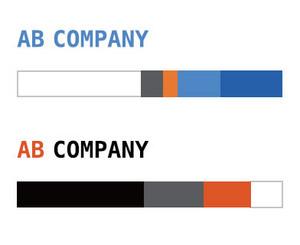 図1 ロゴの色をテーマカラーとした配色の例