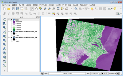 図3 QGIS Desktop