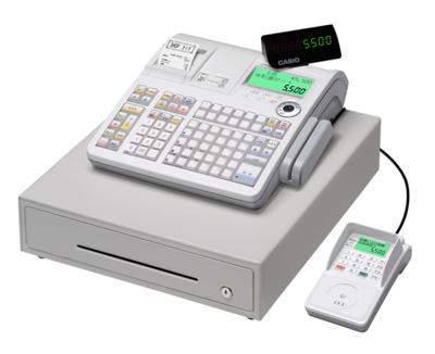 写真1 ネットレジ TE-5500(カシオ計算機株式会社提供)