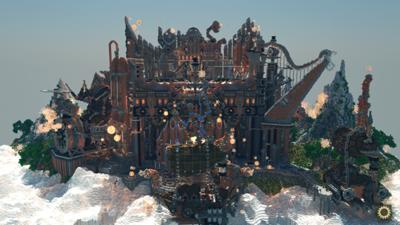 海外のファンコミュニティ「Planet Minecraft」の建築コンテスト優勝作品「Aeternium - the Symphony of Dreams」