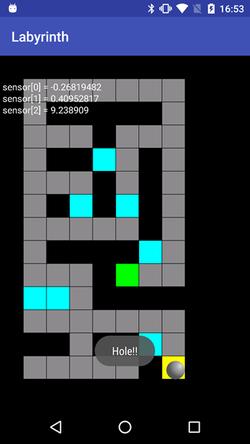 図7 迷路ゲーム