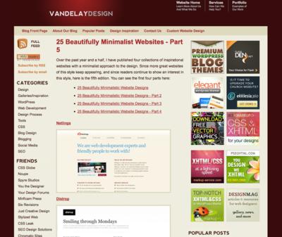 図2 ミニマルデザインの美しいWebサイト集のパート5