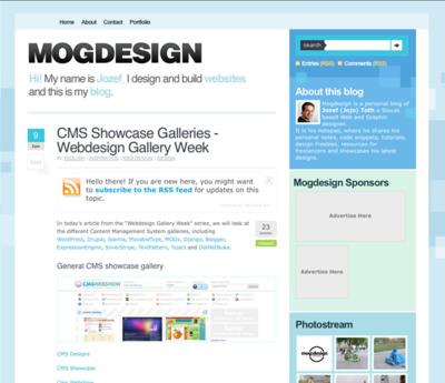 図3 CMSにしぼったWebサイトデザインギャラリーの紹介です